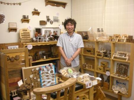 松山のチャレンジショップにミニチュア家具店-内子の注文家具店が出店(写真ニュース) - 松山経済新聞